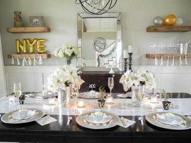 15 detalles decorativos en dorado para la noche de fin de año