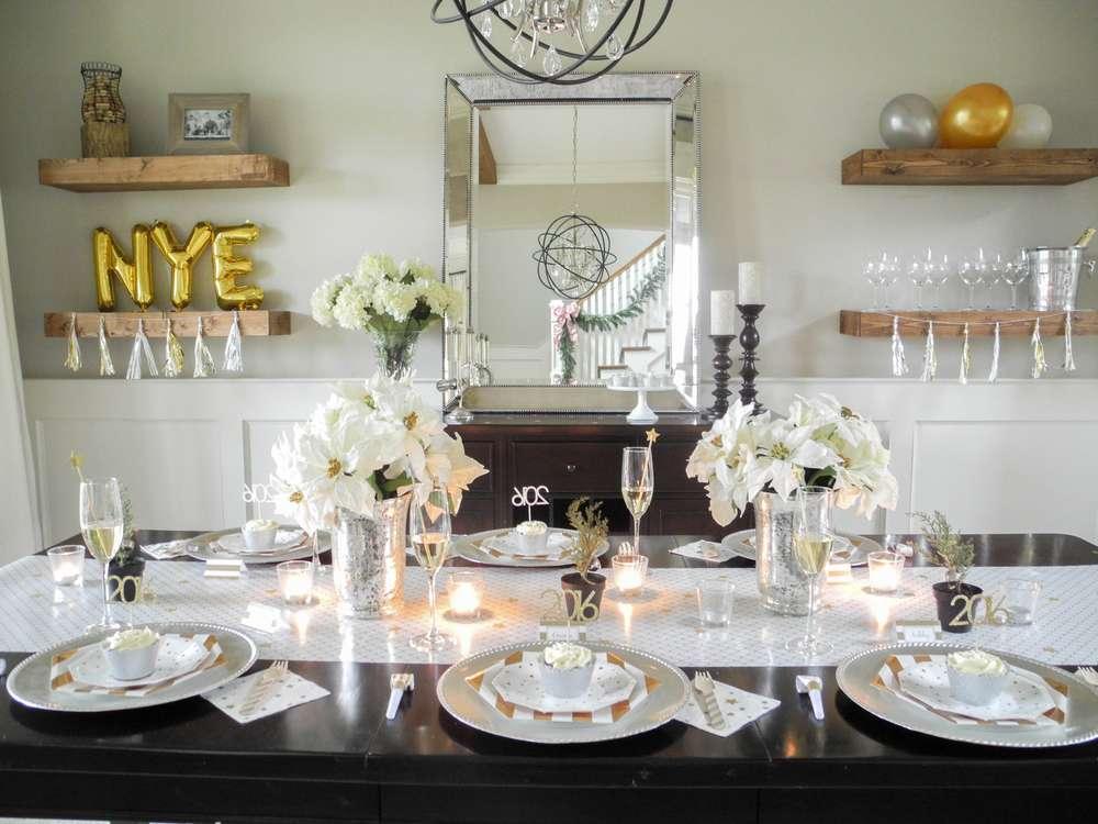 15 detalles decorativos en dorado para la noche de fin de a o - Decoracion fin de ano ...