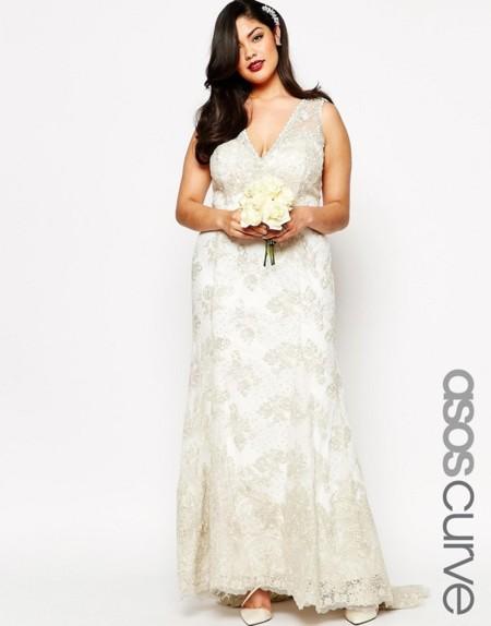 8583551d7 Los 11 vestidos de novia que desearás lucir si eres una mujer curvy ...