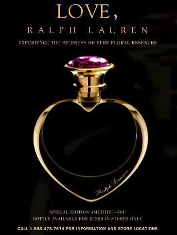 Edición limitada de Love de Ralph Lauren
