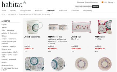 Colección Joanie de Ella Doran para Habitat