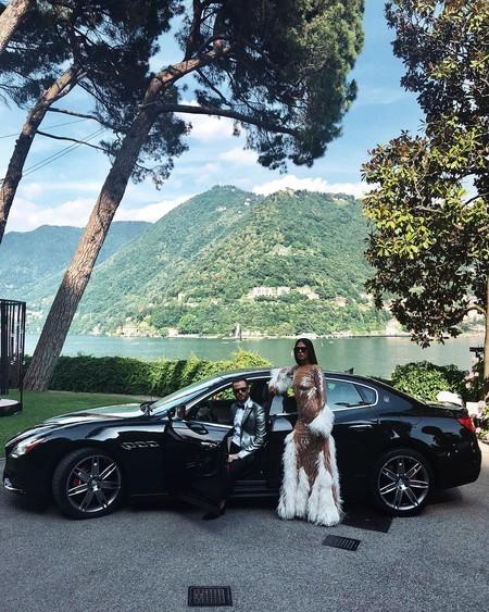 Duelo de divas (juveniles): el maravilloso vestido que acompañó a Gilda Ambrosio y a Dua Lipa lo firma Attico