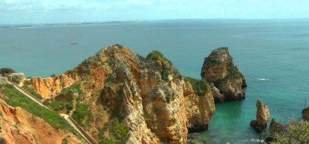 Paseando por las playas del Algarve (vídeo)