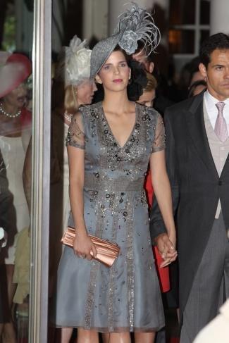 Boda Real en Mónaco: el look de Margarita Vargas