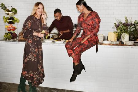 Vestidos de flores o en color rojo: así consigue H&M los vestidos perfectos para Navidad que se pueden reutilizar después