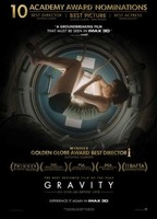 Oscar 2014 | 'Gravity' tiene la mejor fotografía y el mejor montaje