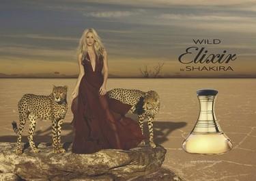 A Shakira le pones dos guepardos al lado y sale de lo más divina