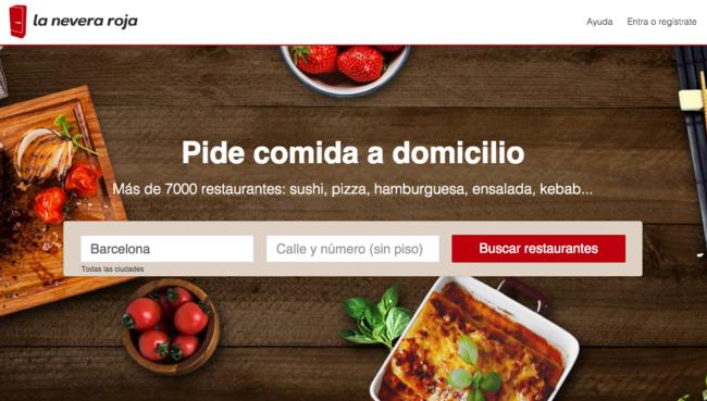 Ya es oficial just eat compra la nevera roja imactive media for La nevera roja zaragoza