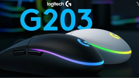 Si eres un apasionado del gaming, Logitech acaba de anunciar el G203 LIGHTSYNC, un ratón a la última con luces LED RGB