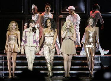 Las Spice Girls inician su gira de dorado
