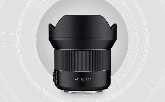 Samyang AF 14 mm ƒ2.8 EF, primer objetivo de la firma con AF para cámaras Canon de sensor full frame