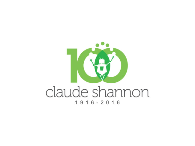 Claude Shannon Centenary Logo