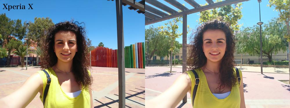 Selfie Xperia X