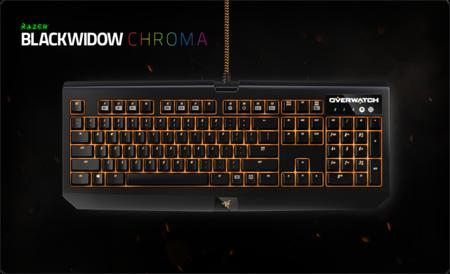 Overwatch Blackwidow Chroma Hero