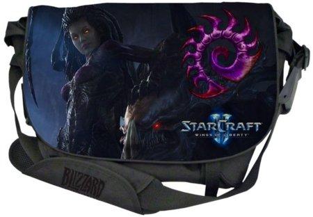 Bolsa de StarCraft II con Kerrigan como protagonista