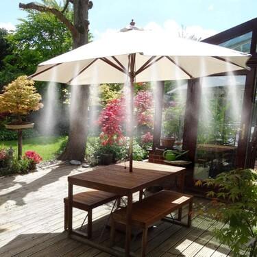 Nebulizadores para refrecar nuestra terraza este verano
