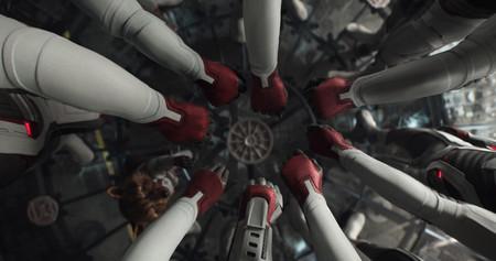 Avengers Endgame Hands Circle