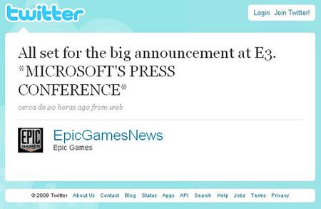 Epic Games desvelarán algo muy importante esta tarde [E3 2009]