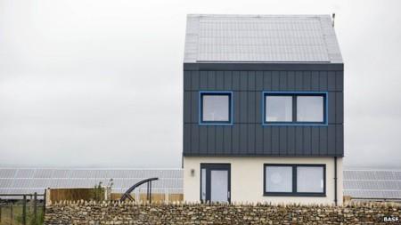 Esta casa produce más energía de la que consume y quiere ser una realidad en Reino Unido