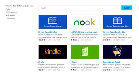 Cómo leer libros en tu tablet con Windows: las mejores aplicaciones