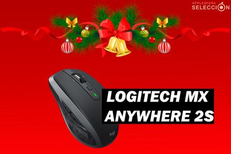 Amazon rebaja por Navidad el ratón inalámbrico ultracompacto Logitech MX Anywhere 2S a su precio mínimo histórico: 48,99 euros