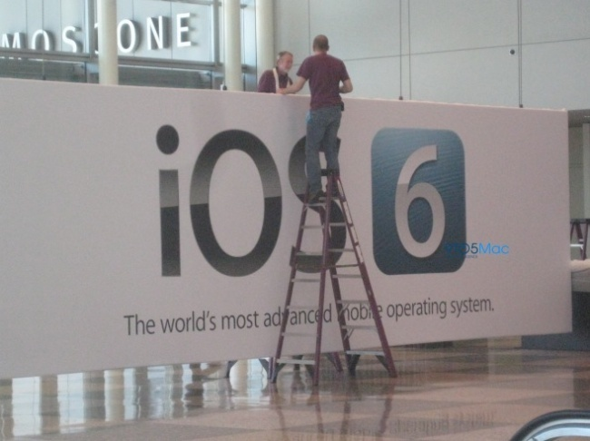 ios 6 wwdc moscone center san francisco apple