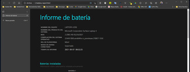 Así puedes acceder a un informe completo sobre el estado de la batería en Windows 10 y Windows 11