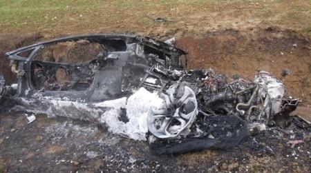 Flavio Pierleoni sufre un grave accidente en un Lamborghini Aventador