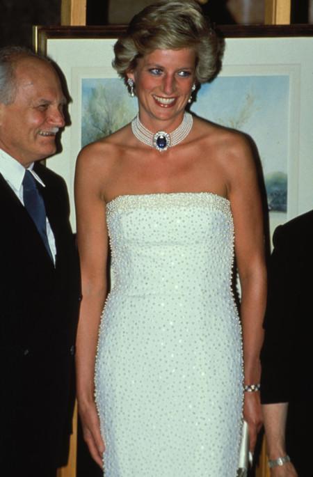 Diana de Gales de Catherine Walker