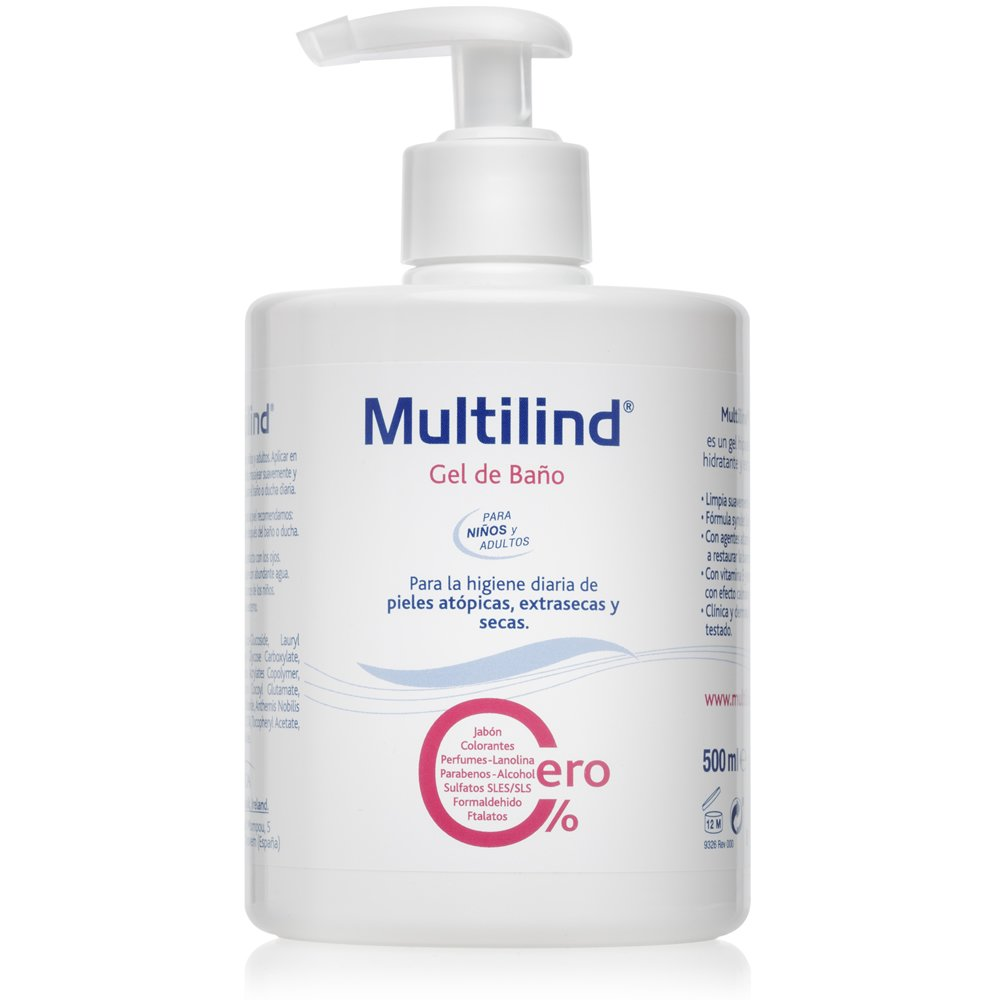 Gel de baño pieles atópicas y secas Multilind