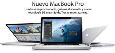 Nuevos MacBook Pro con procesadores quad-core y puerto Thunderbolt