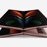 """Samsung Galaxy Z Fold 2 5G: mismo diseño, pero con pantallas más grandes """"sin marcos"""" que lo hacen lucir más atractivo"""