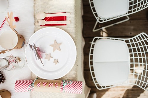 5 ideas para montar una merienda navideña en casa