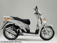 Honda SH125i, tercera generación