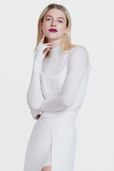 Hunter Schafer Shiseido Makeup Global Brand Ambassador Campaign 2