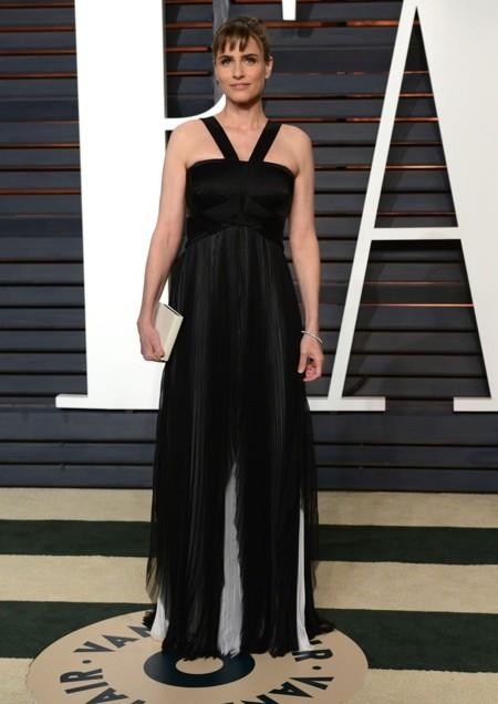 Amanda Peet en la fiesta Vanity Fair