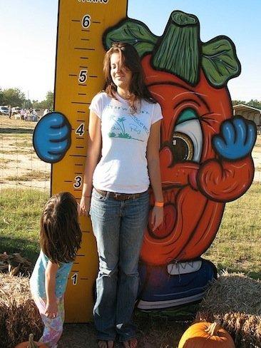 Altura del niño