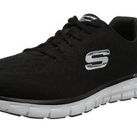Por 36,91 euros puedes estrenar zapatillas Skechers Synergy Fine-Tune en negro gracias a Amazon. Envío gratis