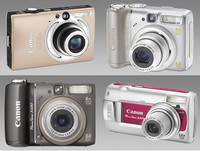 Nuevas compactas de Canon: IXUS 80 IS, PowerShot A590 IS, A580 y A470