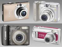Nuevas compactas de Canon: IXUS 80 IS, PowerShot A590 IS, A580 y A470