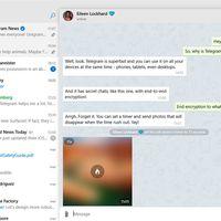 Unigram actualiza su aplicación para Windows con mejoras importantes y el retorno de la llamadas de voz