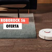 Este robot aspirador con guiado láser también friega tu casa y hoy está rebajadísimo con este cupón: llévate un Roborock S6 más barato