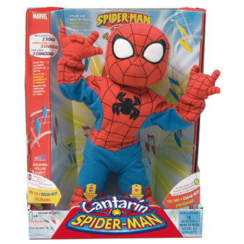 Spiderman cantarín