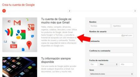 Google obliga a todos los nuevos usuarios que quieran registrarse a tener cuenta en Google+