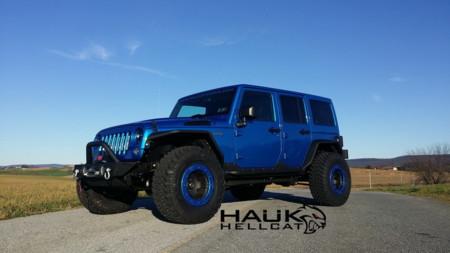 Si tenias ganas de un Jeep Hellcat, Hauk Design te prepara tu Wrangler para lograrlo