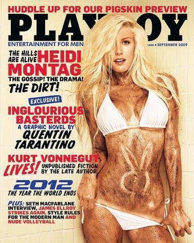 Heidi Montag, explosiva (no del todo) para Playboy