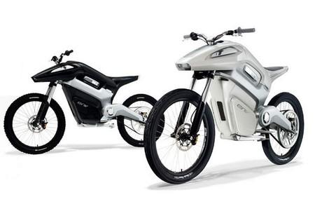 Env Hydrogen Fuel Cell Motorcycle