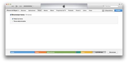 iTunes tonos iOS 7