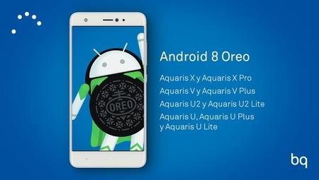 Estos son los móviles BQ que recibirán Android Oreo