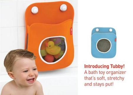 Tubby, organizador para los juguetes del baño